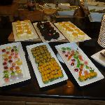 Tasty selection of desserts at Nana Ibis