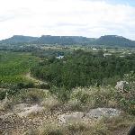 paysage de Chusclan