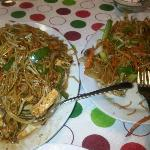 Schewan Noodles and Soy Sauce Egg Noodle