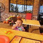 great patio area