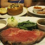 Mad Onion's $9.99 Prime Rib Dinner (I had 4 during my stay)