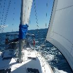 Another great sail in paradise