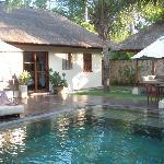 Villa Pool & Bedroom