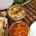 perfect Indian meal