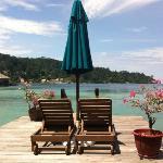 ocean villa balcony