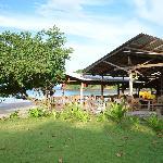 The restaurant terrasse