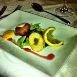 Tasting menu - fish