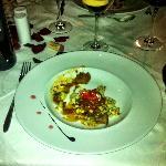 Tasting menu - stroganoff with gnocci