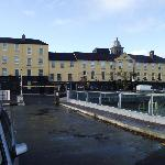 Treacey's hotel from quayside
