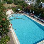 Generous sized swimming pool - no loud music