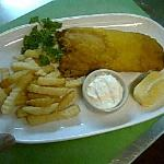 Best Fish Best Chips Snapper 250 gm. Wedge of Lemon