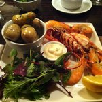 Lynmouth Bay Lobster - Happy Birthday to me!