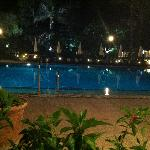This was a view from Bar Azul to the pool.