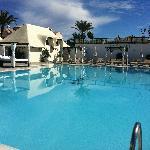 Pool at La Cabane