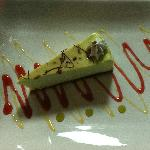 Pistachio cheesecake very good!