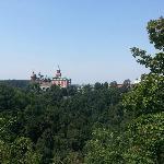 Zamek od strony Tarasu Widokowego
