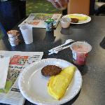 Breakfast at Fairfield Inn