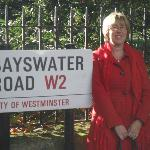 Me on the Bayswater Road.