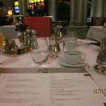XO restaurant menu