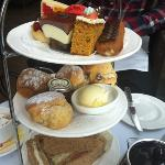 afternoon tea at the terrace bar