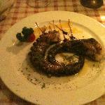 Stewed octopus