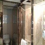 View of washroom