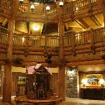 Villas at Wilderness Lodge Lobby