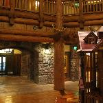 Lobby at Wilderness Lodge Villas