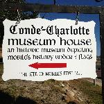 Sign showing history