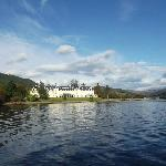 Hotel from Loch Long