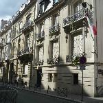 Rue Copernic.