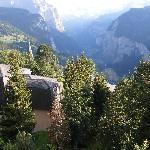looking down lutenbreau valley