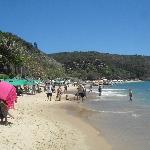 La playa Joao Fernandes y el club