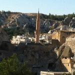 mosque and town of Goreme
