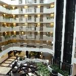 Hotel court yard
