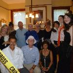 Murder mystery suspects