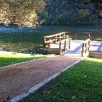 This is the yoga dock--bring a mat and get all ZEN