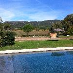 Bastide du Galinier - pool area