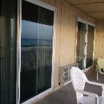 balcony two sliding doors