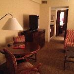 TV & Sitting area