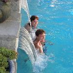 October 13, 2012 Sisters Enjoying Swim