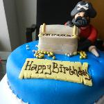 Birthday Cake, prepared by Hotel