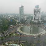 View from room of Meraka square