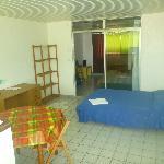 Room 8 (unrenovated 2 br suite) - 2nd bedroom / kitchenette