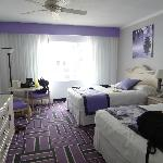The double room, exactly as the photo on the hotel website