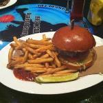 fast break burger