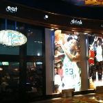 Foto van Michael Jordan's 23.Sportscafe