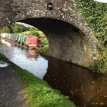 Canal walk at bottom of property