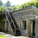 Fort Canby ammunition storage buildning