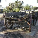 Old Cart at Outback Motel Hawker